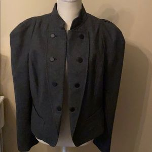 New York & Co military inspired jacket, size 14